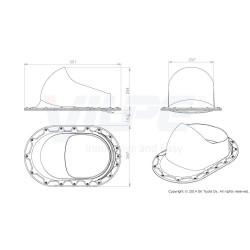 VILPE® XL Classic praėjimo elementas montavimas