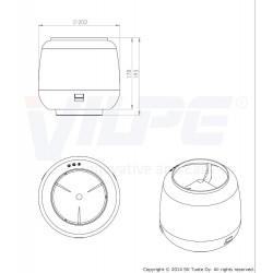 VILPE® gaubtas-110