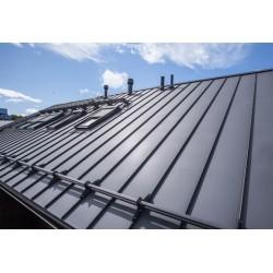 plieninis stogas