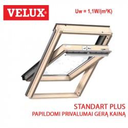 Stogo langas Velux GLL 1061...