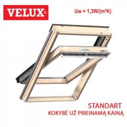 Stogo langas Velux GZL 1051 Standard matmenys 114 x 140 cm