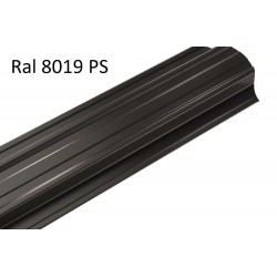 RAL 8019 POLY TAMSIAI RUDA