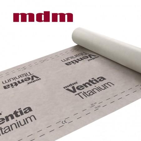 mdm ventia titanium difuzinė plėvelė