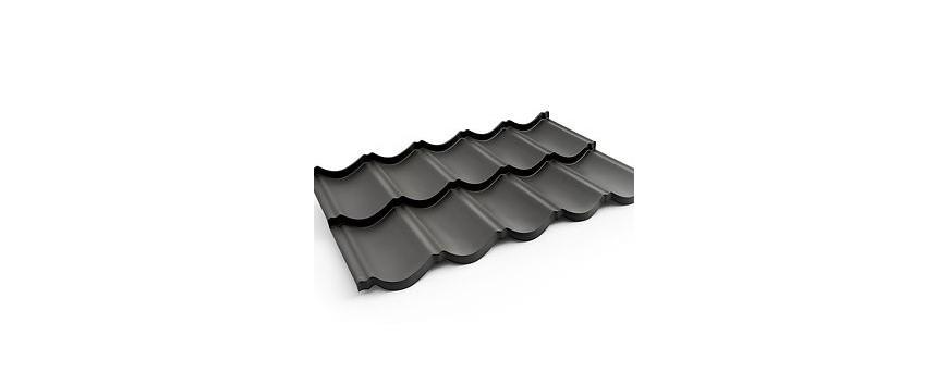 BRATEX modulinės plieno čerpės lakštai
