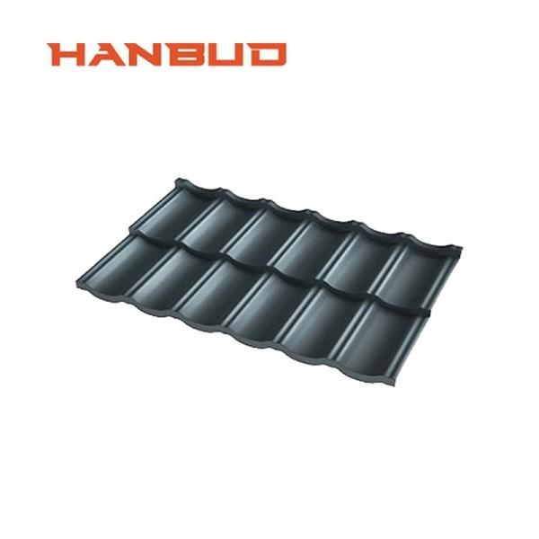 HANBUD modulinės plieno čerpės lakštai