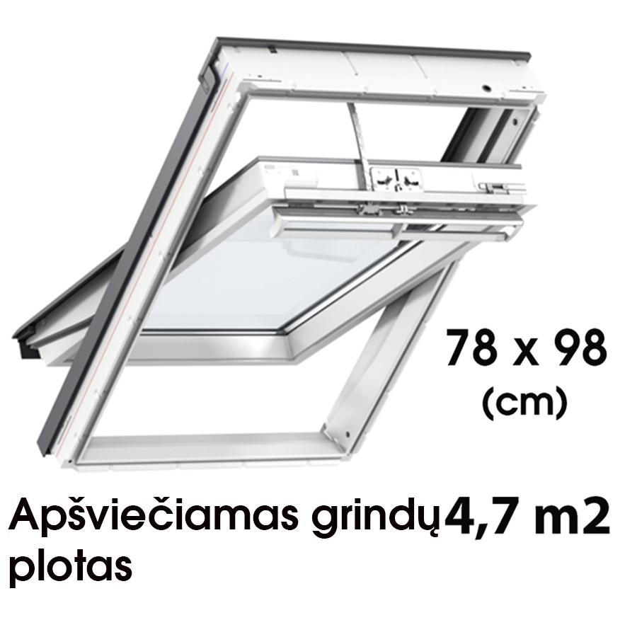 Matmenys  78 x 98 cm