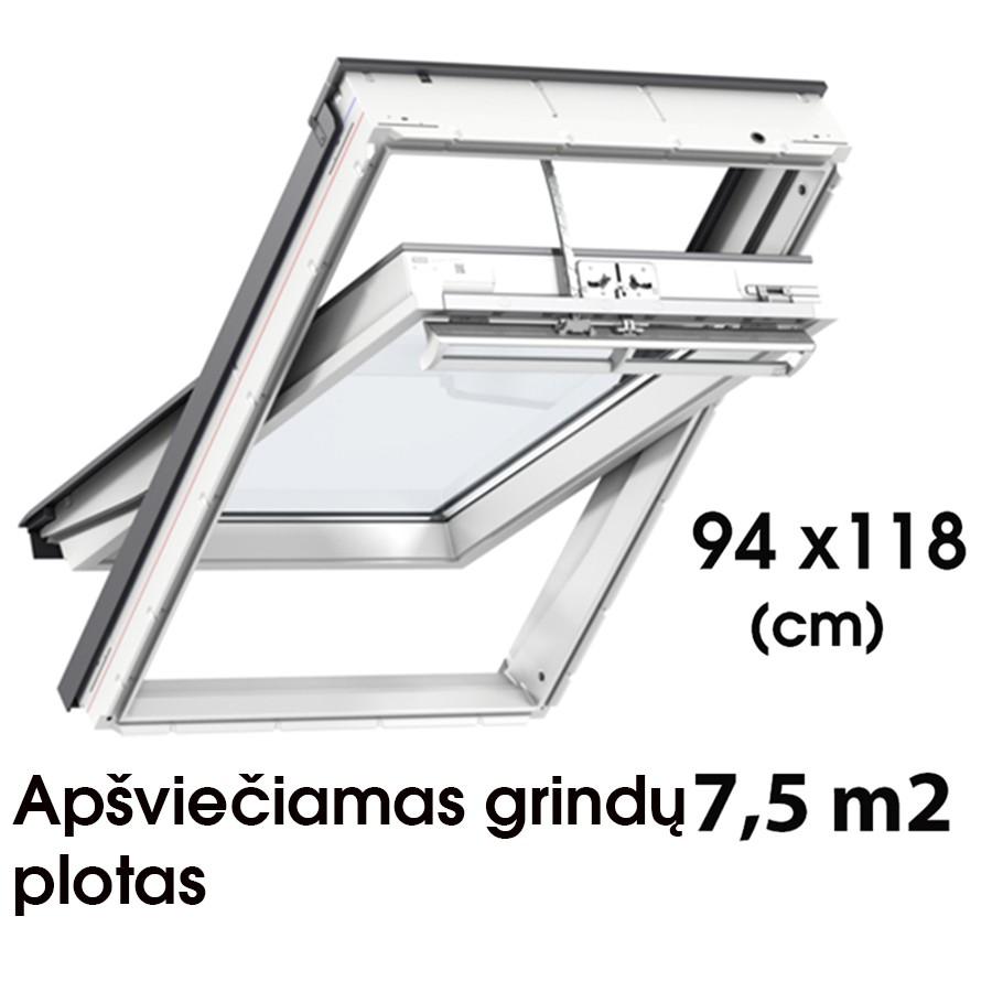 Matmenys  94 x 118 cm